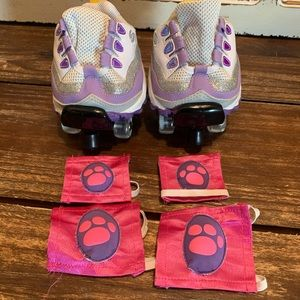 Build A Bear roller skates and pads